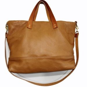 Created Beautifully Ashlyn Large Leather Tote Bag